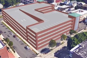 Mineola Harrison Parking Structure (Rendering) 10-03-18