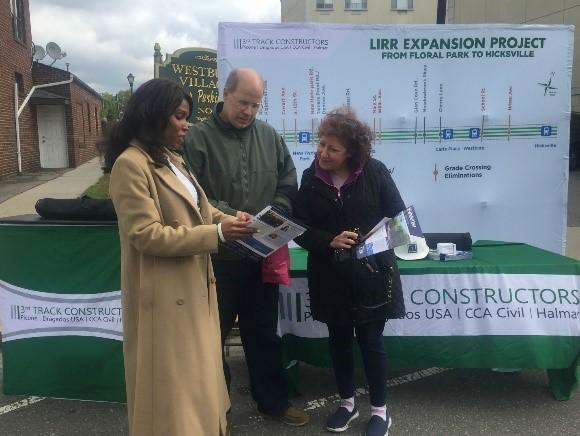 3TC Ambassador Margo Cargill Westbury Business Improvement District Street Fair