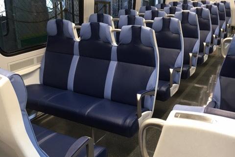 The new M9 Rail cars