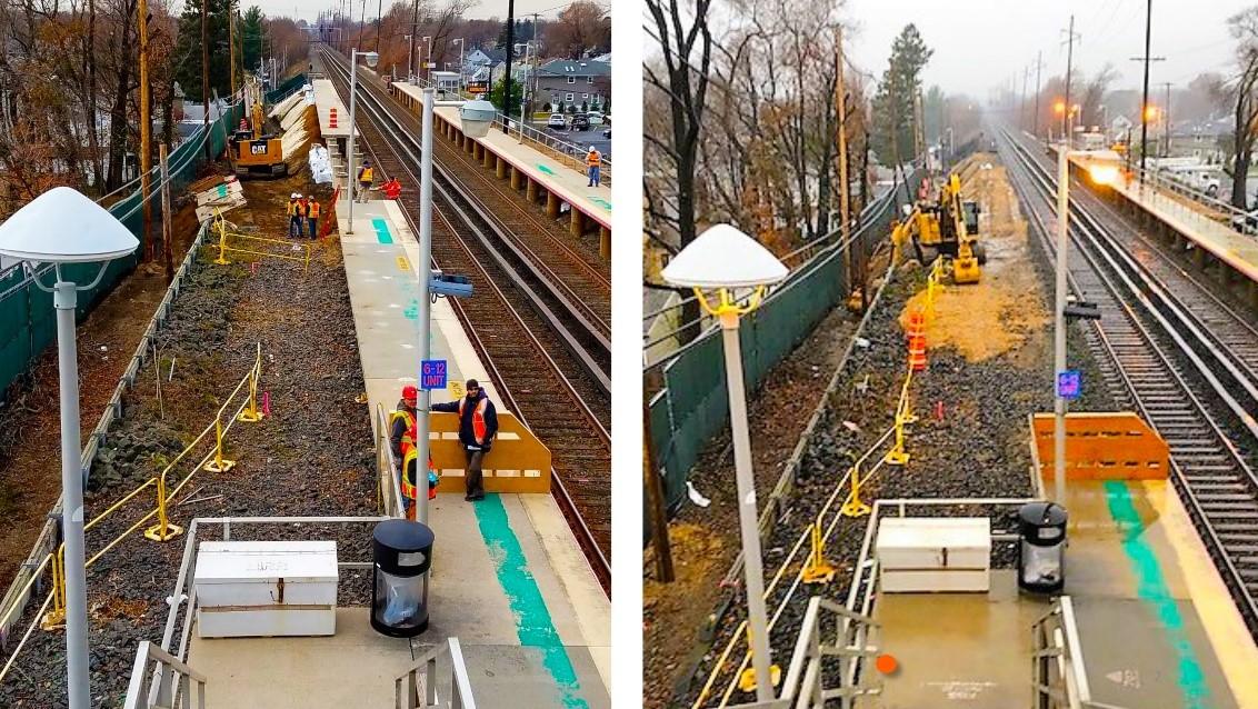 Carle Place Platform Demolition 11-26-18