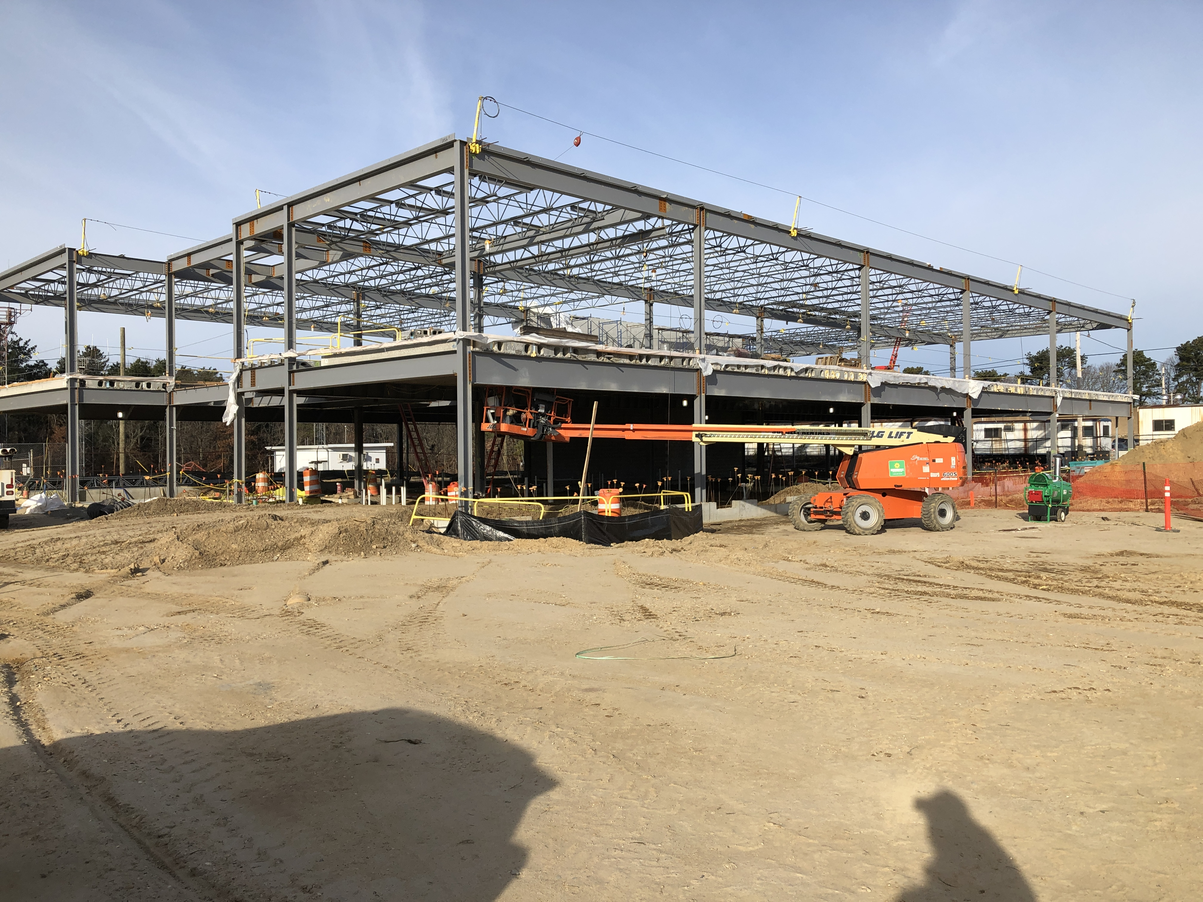 Mid Suffolk Yard - View of Employee Facility Looking NW 01-07-18