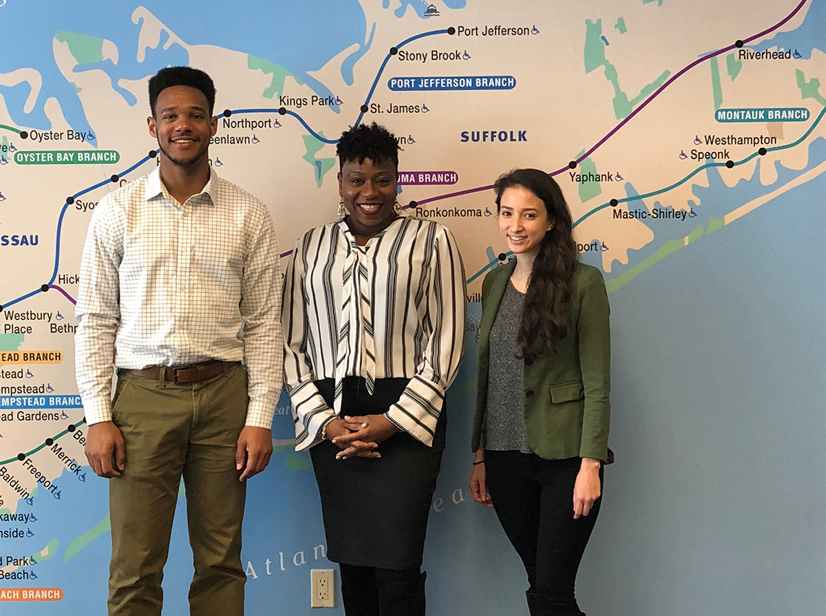 LIRR Expansion Project Team Meets with Executive Director of Girls, Inc. of Long Island to Support Mentoring Opportunities 01-17-19