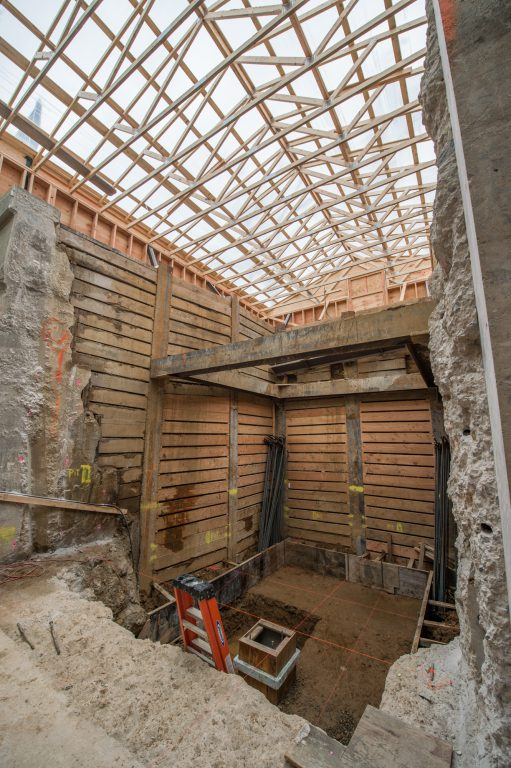 Construction of New Elevators at Murray Hill Station - 1-29-19
