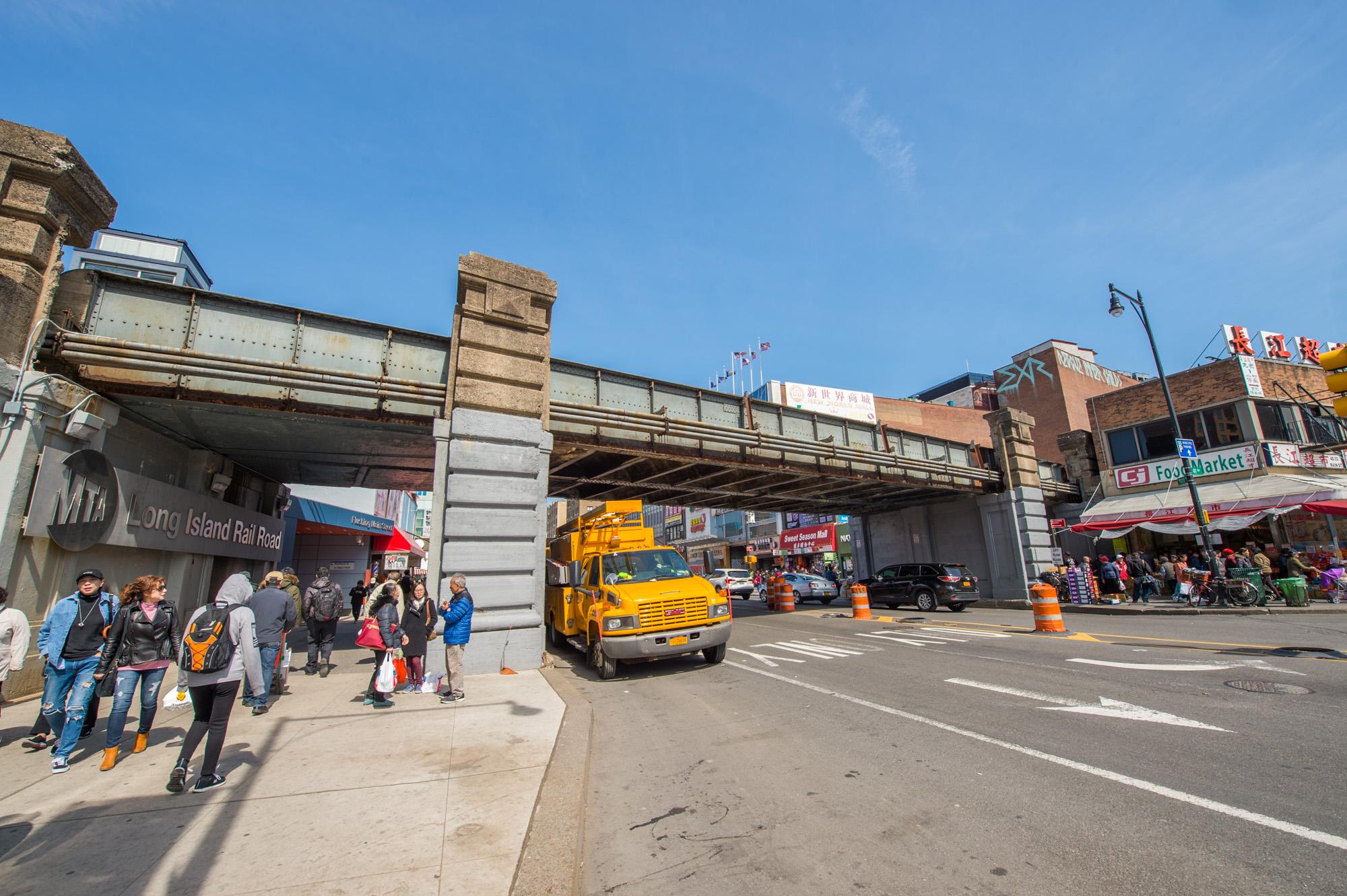 Flushing Main Street Bridge 04-04-19