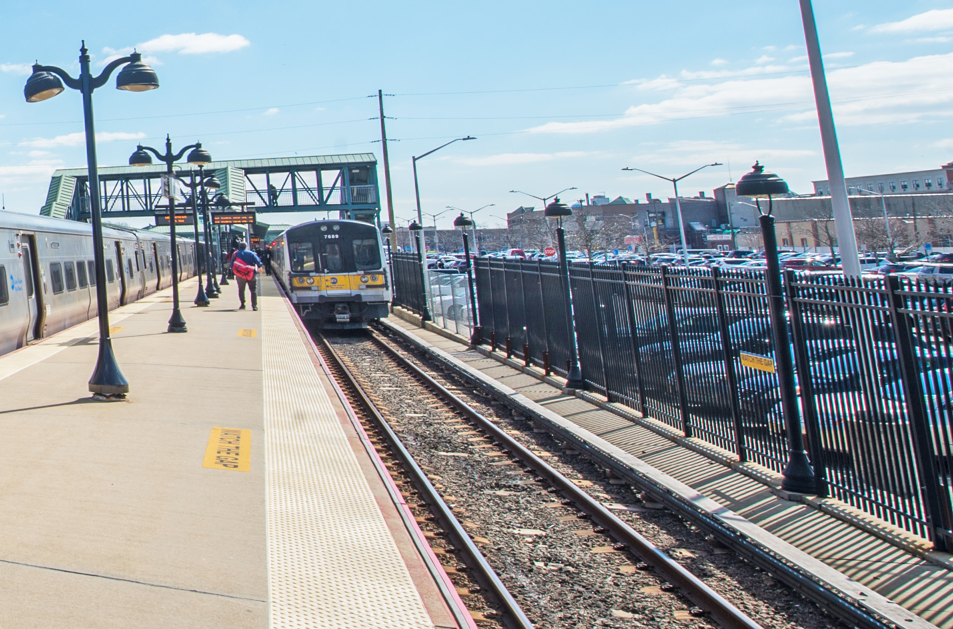 Hempstead Station Fence 03-12-19