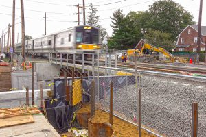 Covert Avenue Bridge and Underpass Installed - 08-26-19