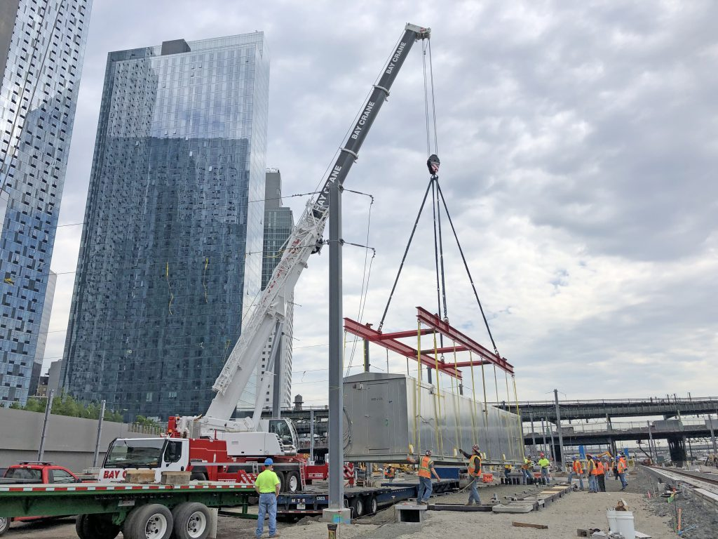 East Side Access Milestone: Mid-Day Storage Yard Complete May 2019