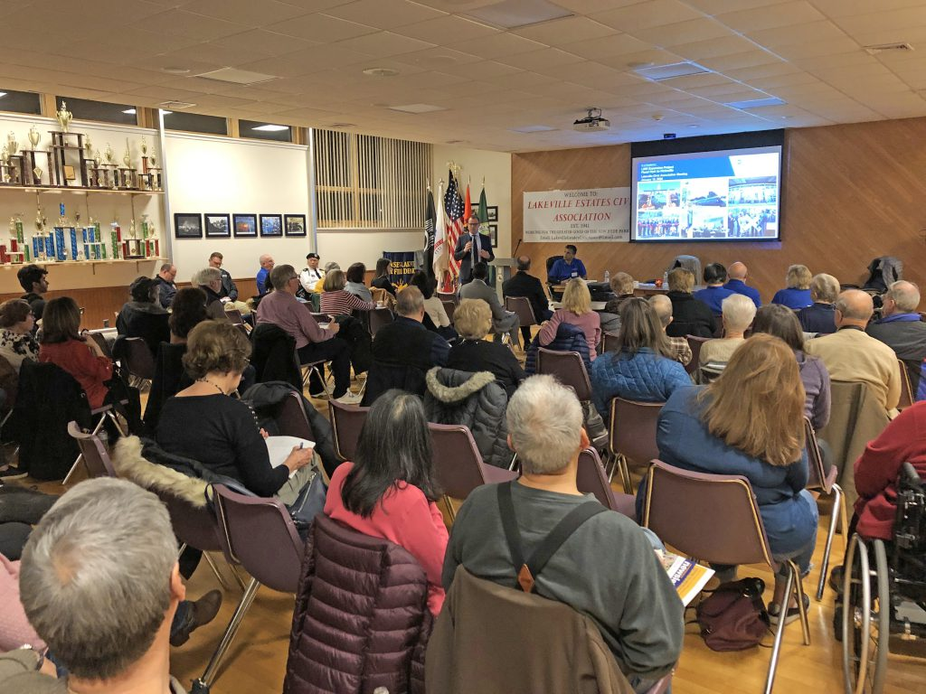 New Hyde Park Road to the Lakeville Estates Civic Association January 2020
