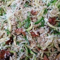 Zucchini Noodles Carbonara