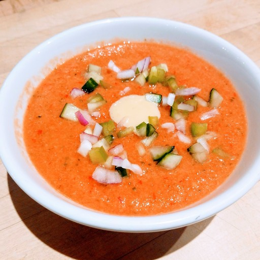 Cucumber and Tomato Gazpacho