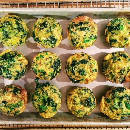 Asparagus and Mushroom Mini Frittata
