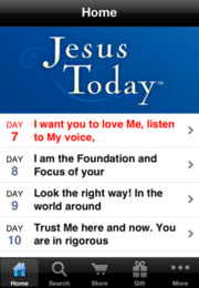 Jesus_today_app_main_screen