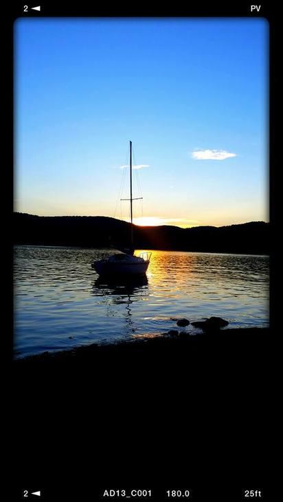 Pathfinder sunset