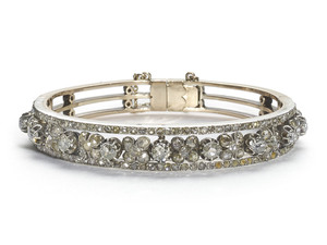 Victorian Diamond Bangle