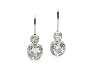 2.15ct Diamond Earrings