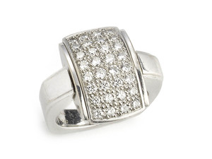 Mellerio Diamond Reversible Ring