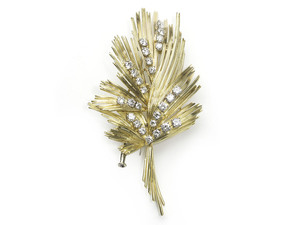 Gübelin Gold & Diamond Brooch