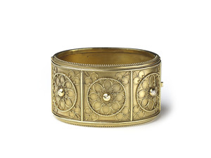 Victorian Gold Bangle