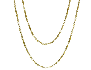 Victorian Long Gold Chain