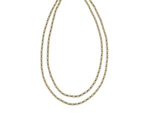 Gold Long Chain S Link