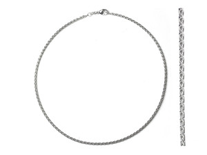 Prince of Wales White Gold Chain