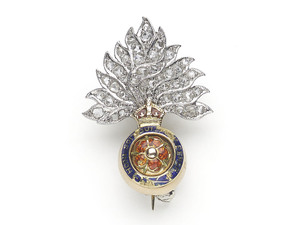 British Royal Fusiliers Badge
