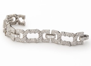 Cartier Art Deco Diamond Bracelet