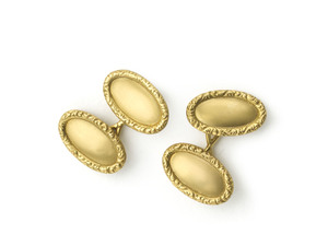 Antique Tiffany gold cufllinks