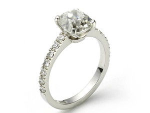 Cushion Cut Diamond Ring, 2.34ct