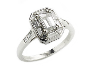 0.72ct Diamond Ring