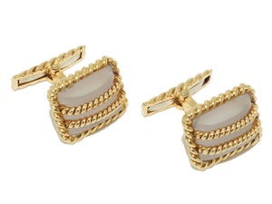 Webb Crystal Cufflinks