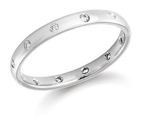 Platinum & Diamond Wedding Ring