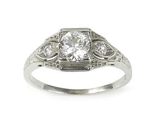0.62ct Diamond Ring