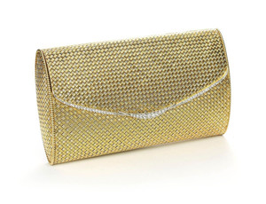 Pierre Brun French Gold Bag