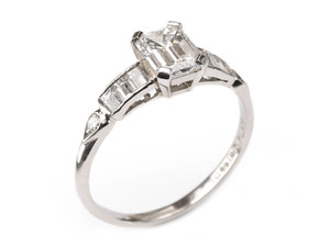 Diamond Ring, 1.01ct