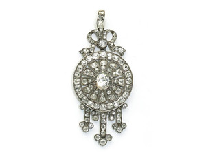 Antique Diamond Pendant