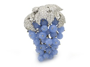Grape Brooch