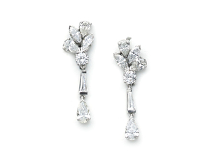 Sidney Garber Diamond Earrings