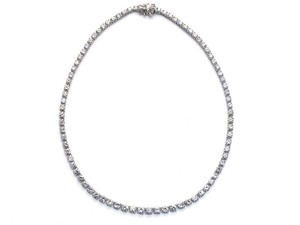 Riviere Diamond Necklace, 16.20ct