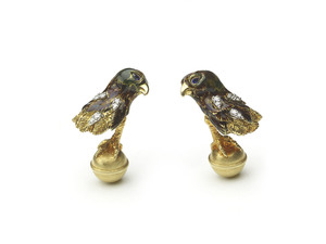 Tiffany & Co. Eagle Cufflinks
