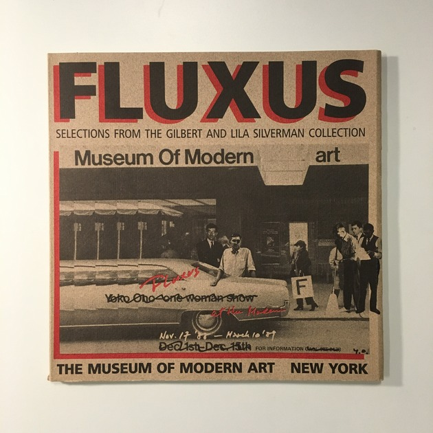Fluxus moma catalogue