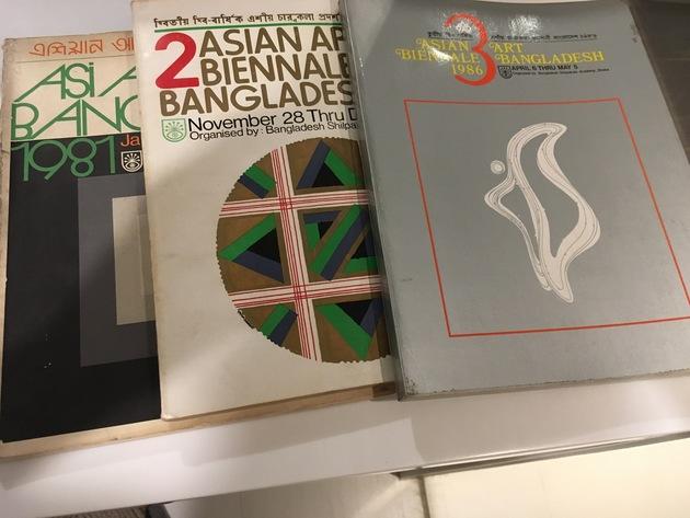 Biennale catalogs