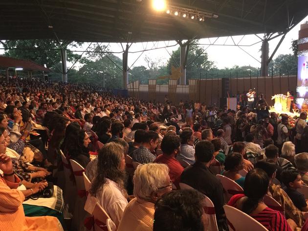 Opening ceremony of international film festival of kerala 2016