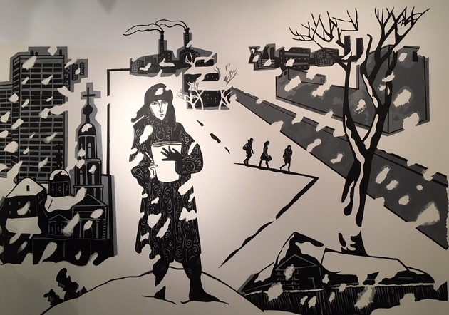 Lamasko bk mural