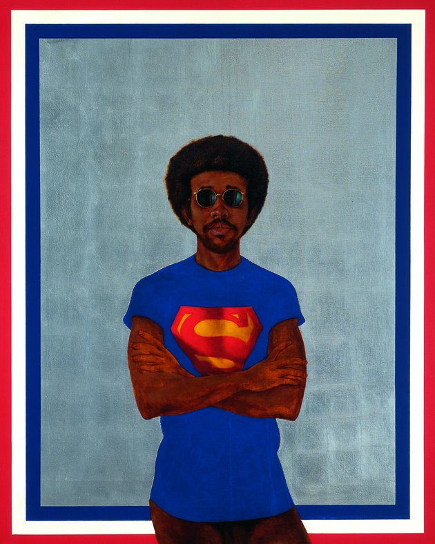 Bh icon for my man superman (superman never saved any black people bobby seale) hr