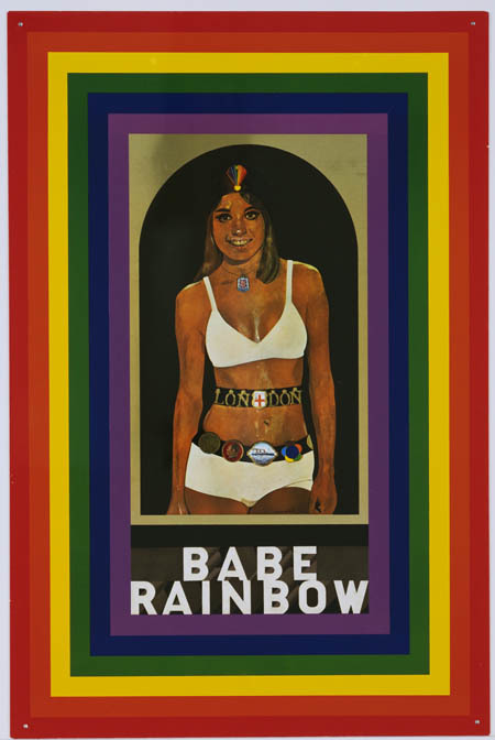 Peter blake babe rainbow   maybe