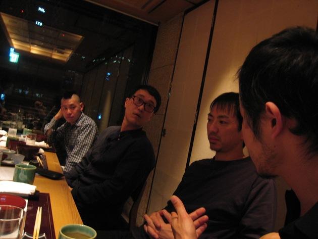 14.1 nl dinner with minemura hayashi hirasawa