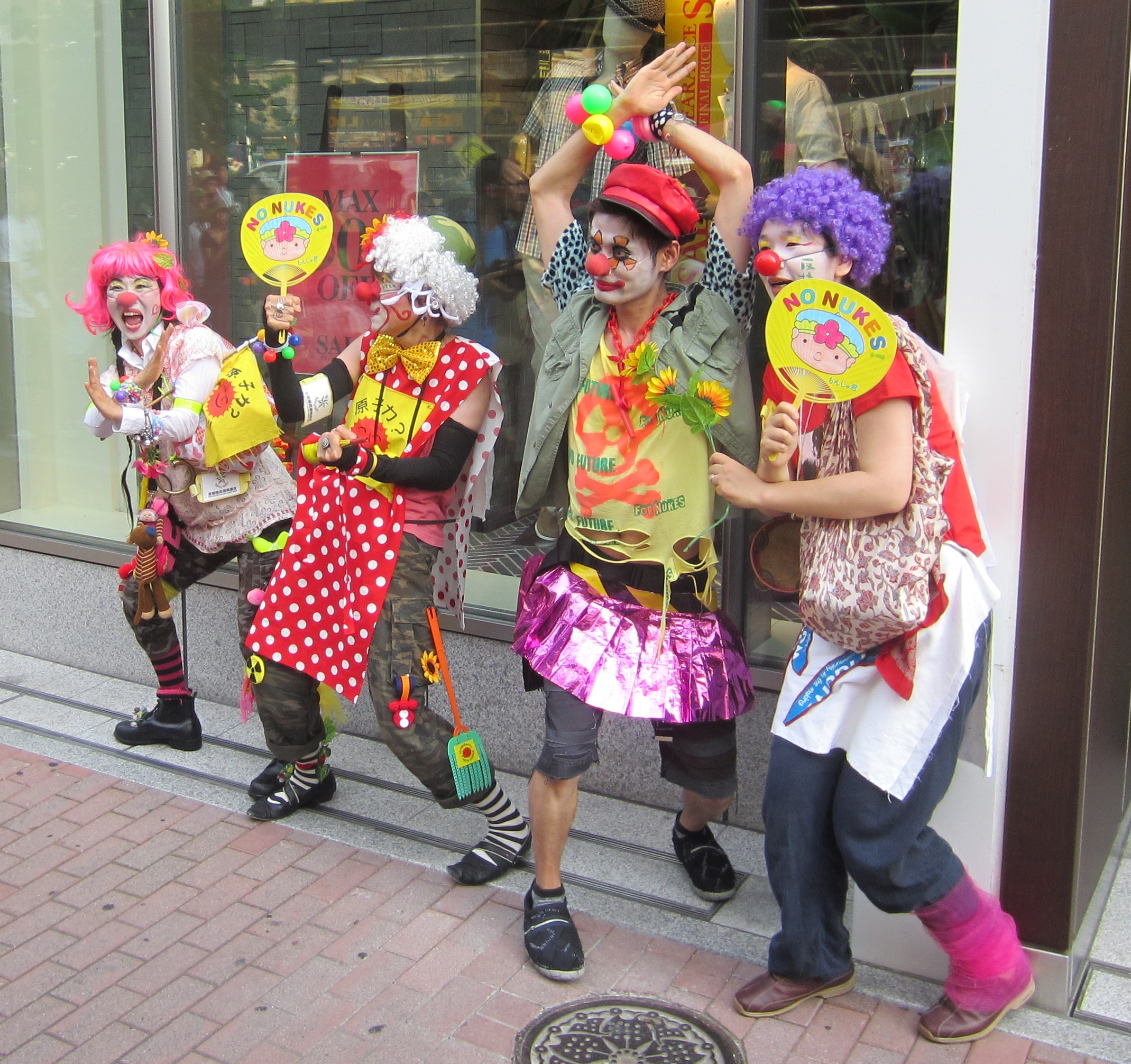 Anti-Nuclear Clowns