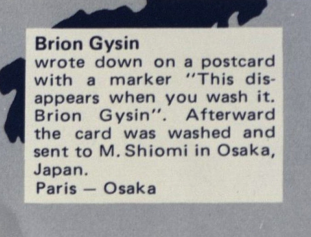 Sp 9 brion gysin