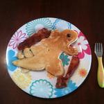 Nolan godzilla pancake